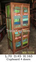 Cupboard, Wardrobe- Boat Furniture - Recycled Furniture - Special Design