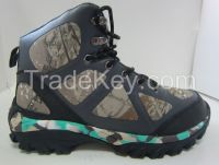 cheap wholesale leahter lightweight injection men hiking shoes