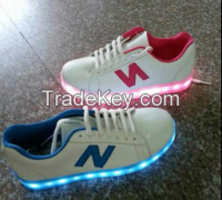 wholesale cheap colorful LED casual shoes