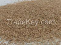 Wheat bran fluffy