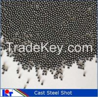 Cast steel shot and blasting ball