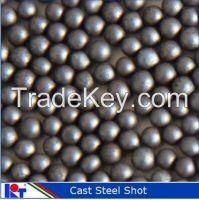 metal abrasive cast steel shot S390