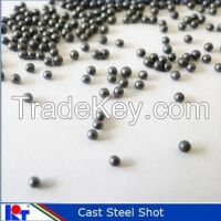 Cast steel shot and blasting ball