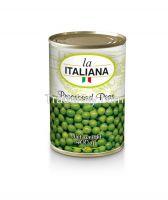 processed green peas