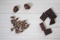 Cocoa Beans, Cocoa Powders and Cocoa Nibs Roasted