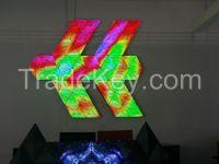 LED Shaped Screen