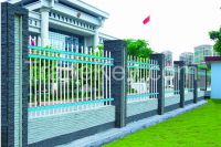 Non-welded Galvanized Zinc Steel Building Handrail Fence, Garden Railing Fence