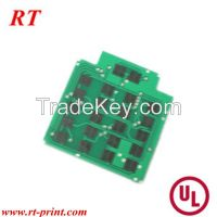 2 layer pcb with carbon