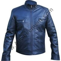 Mens Leather Fashion Jacket