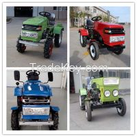 good quality agriculture wheel tractor with tiller and plough farm wheel tractor