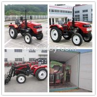 2015 hot sale farm machinery small tractor with tiller and plough