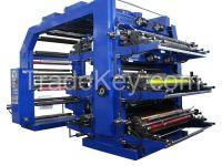 6color fleox printing machine