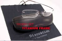 Beta-Titanium Optical Frame
