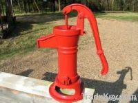 cast iron hand pump housing, pitcher pump