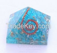 Orgone Blue Energy Pyramid