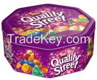 Nestel Quality Street in various sizes,Bounty, Maltesers,Milky way, Twix, Nutella Chocolate, Mars