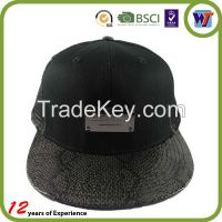 customize design snapback baseball cap