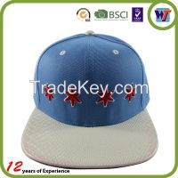 High Quality Wholesale Custom  Snapback Cap with logo For Sale