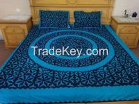 quilt art bed sheets