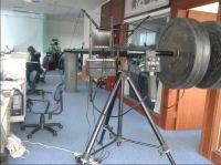 3m 9.8ft Jimmy-jib heavy camera crane for professional camera