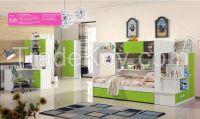 2015 new style children bedroom furniture set, kids furniture 208
