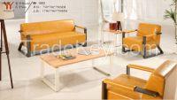 Popular Office Sofa With Metal Feet 1502
