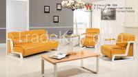 Popular Office Sofa With Metal Feet 1506