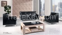 Popular Office Sofa With Metal Feet  1446