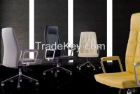 Modern Office  Chair, Leather Office Chair In Different Type W4018