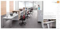 2015 new style Office workstation, modern office workstation for four persons CS-1580-4