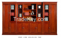 office Filing cabinet, wooden high cabinet, bookcase HY-C615