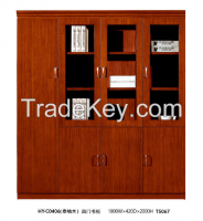 office Filing cabinet, wooden high cabinet, bookcase HY-C0406