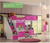 2015 newstyle Children bedroom Furniture kids furniture ,kids bed B09-P1