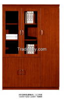 office Filing cabinet, wooden high cabinet, bookcase HY-C0405