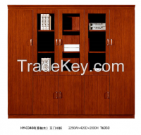 office Filing cabinet, wooden high cabinet, bookcase HY-C0408
