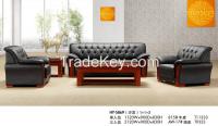 office sofa , pu leather sofa HY-S869