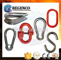 Stainless Steel Spring Snap Hook for Chain Rigging