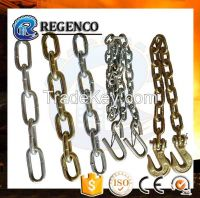 G80 Marine Hardware Parts Welded Steel Short Link Chain Lifting Chain Anchor Chain