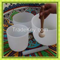 Quartz glass bowl