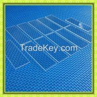 Clear Turkish Quartz Glass Plate Sheet
