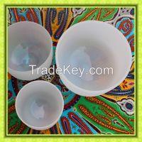 Quartz Crystal Singing Bowls Chakra For Meditation