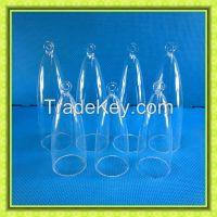 different size chakra quartz crystal singing bells