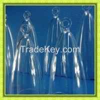 clear chakra quartz crystal tuning bell