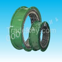 Pneumatic clutch used for oilfield petroleum drilling workover machine