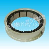 double plate clutch and single plate brake for high energy input applications