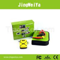 12V 8000mah mini jump starter Portable battery jump starter For MP4 mobiles PSP laptops