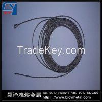 Tungsten wire rope
