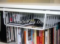 under shelf hanging storage basket