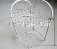 bathroom wrought iron shelf manufacture in China