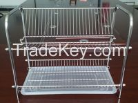 Kitchen Stainless steel 2 Layered Dish Drainer